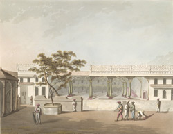 North Front Of Tippoo's Palace, Bangalore.